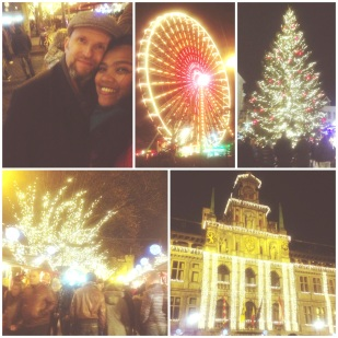 Christmas Market in Town, Antwerpen
