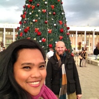 Christmas Market in Skanderbeg Square, Tirana, Albania