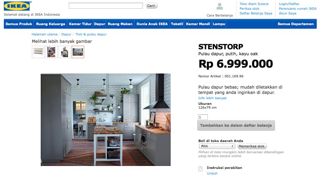 Serunya Ikea Indonesia