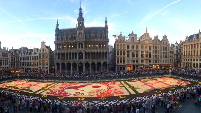 Flower Carpet Brussels 2016