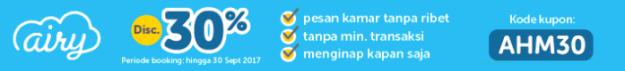 Pesan Hotel Yogyakarta di Airyrooms