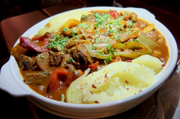 Stew with dill